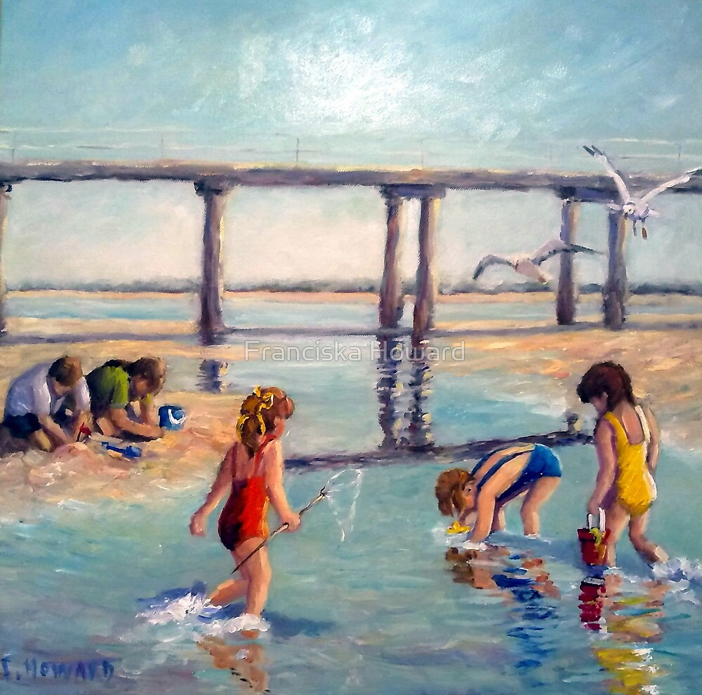 Summer Vacation (Altona Pier) by Franciska Howard