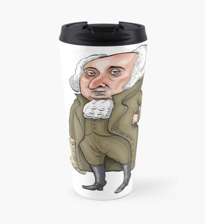 President John Adams Travel Mug