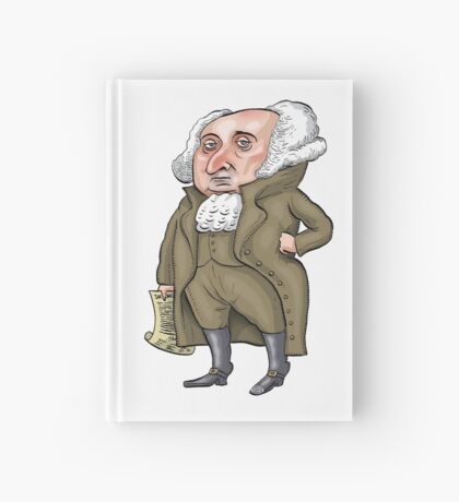 President John Adams Hardcover Journal