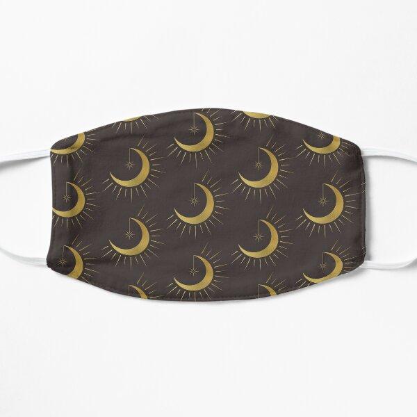 Gold Moon Star Flat Mask