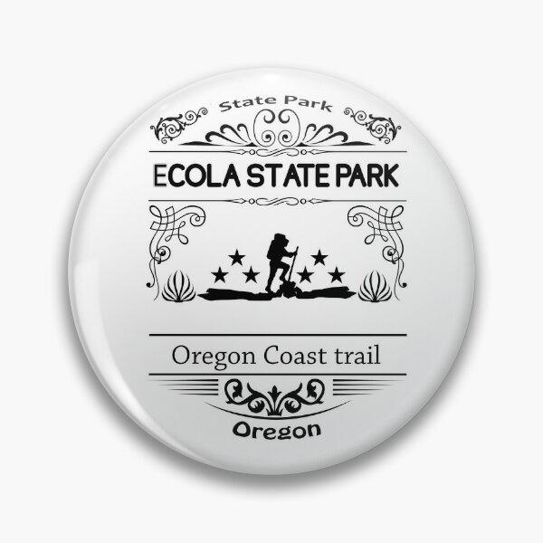 Ecola State Park Oregon Pin