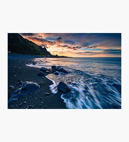 Kirikiri Bay Dawn Rush Photographic Print