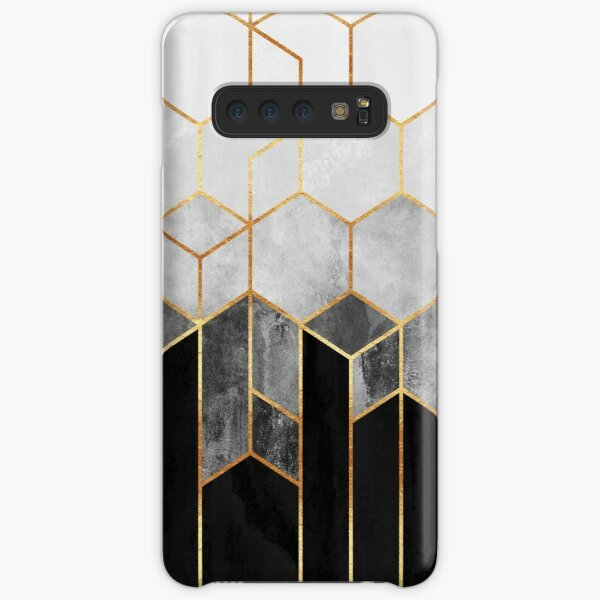 Charcoal Hexagons Samsung Galaxy Snap Case