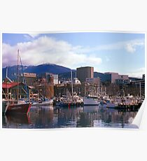Victoria Dock, Hobart, Spring 2010—Kodachrome 64 Poster