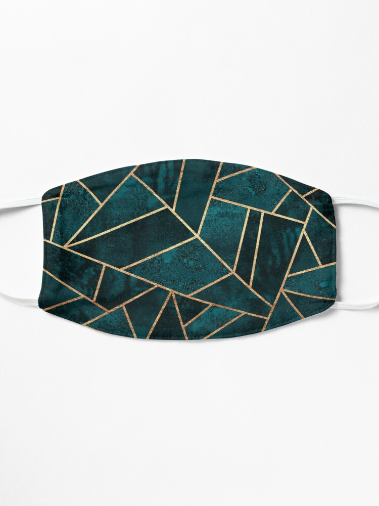 Alternate view of Deep Teal Stone Mask
