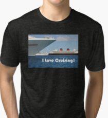 I Love Cruising Tri-blend T-Shirt