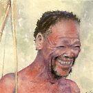 Kalahari Bushman by Michelle Gilmore