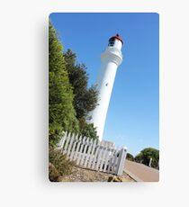 Split Point Lighthouse Canvas Print