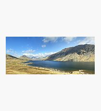 A Wastwater Panorama Photographic Print