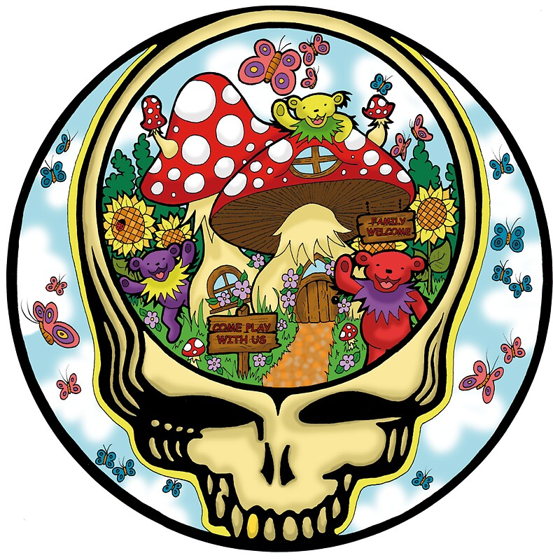 """Grateful Dead - Steal Your Face, Dancing Bears and"