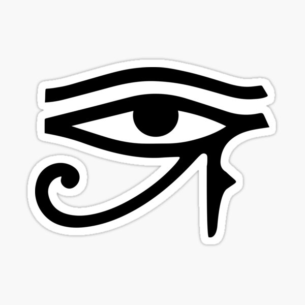 Eye of Horus Egyptian Third Eye Sticker