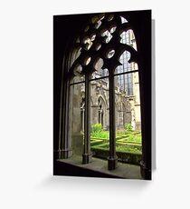 Pandhof ~ St. Martin's Cathedral Greeting Card