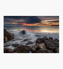 Bowentown Red Rise Photographic Print