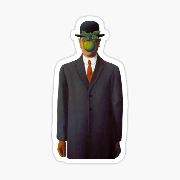 René Magritte - Le Fils de l'Homme Sticker