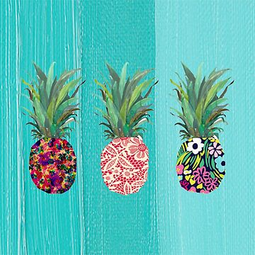 Summer Pineapples by AestheticAttire