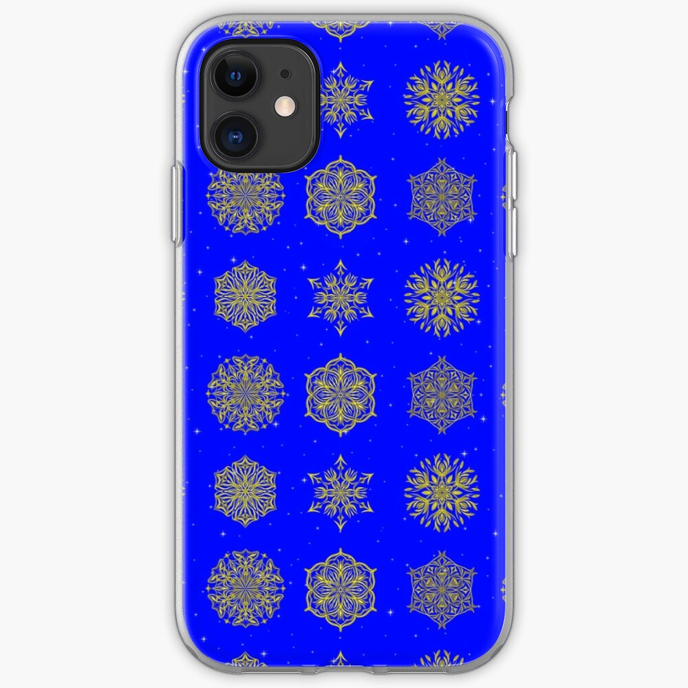 Shining Skies, Woven Gold iPhone Case & Cover