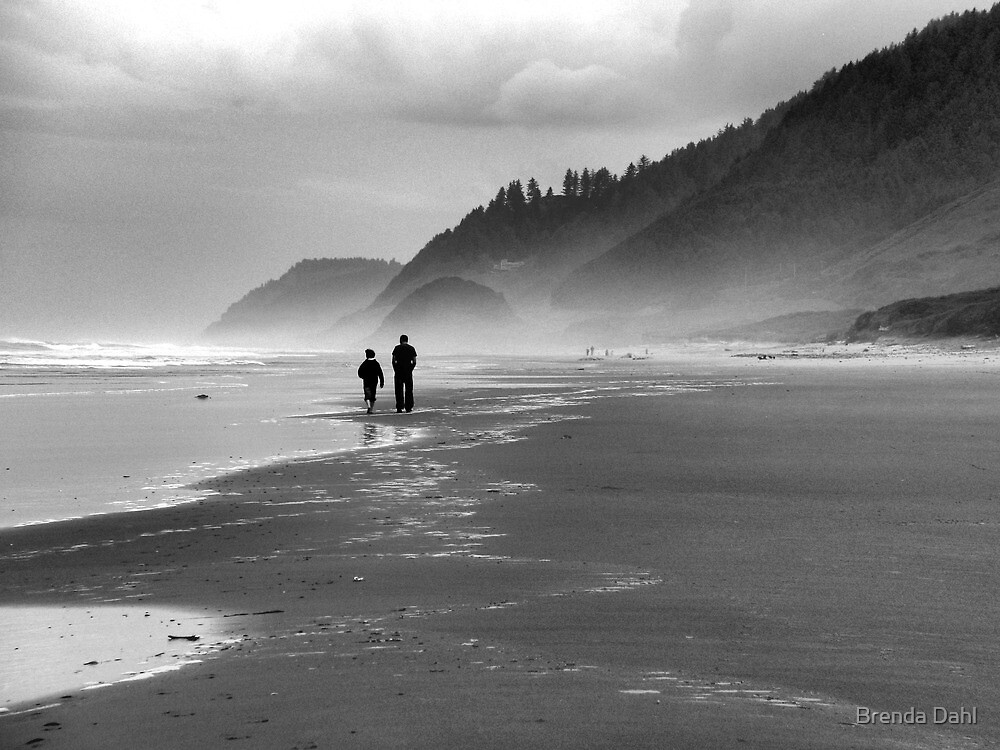 Father and Son~ by Brenda Dahl