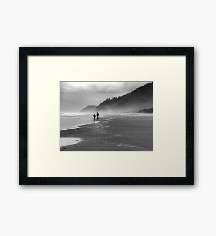 Father and Son~ Framed Print