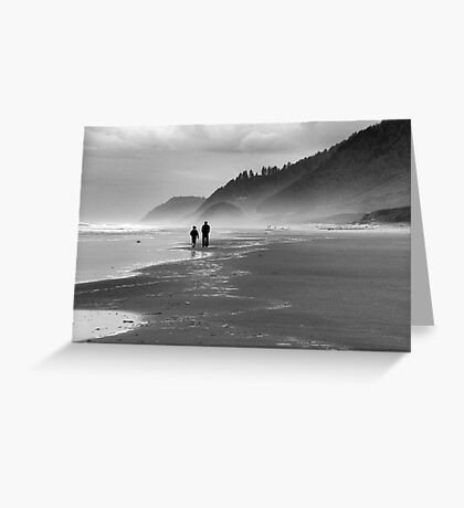Father and Son~ Greeting Card