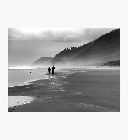 Father and Son~ Photographic Print