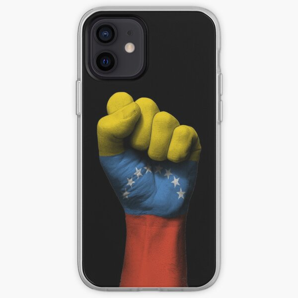 Flag of Venezuela on a Raised Clenched Fist  iPhone Soft Case