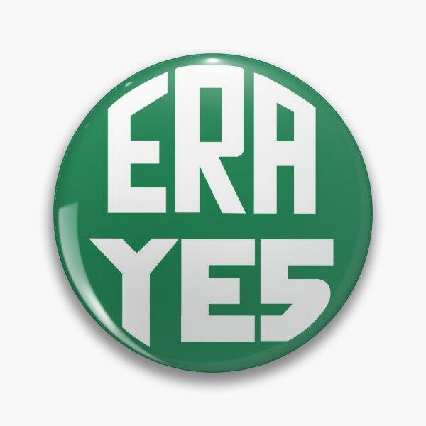 ERA YES logo Pin