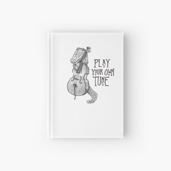 Alligator: Play Your Own Tune Hardcover Journal