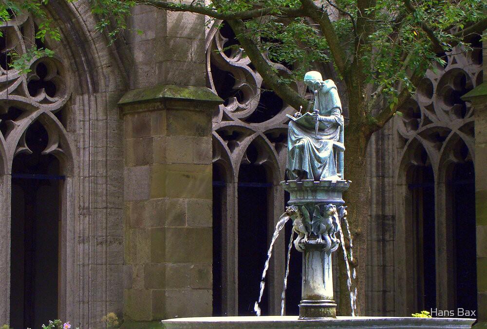 Hugo Wstinc ~ Pandhof - St. Martin's Cathedral by Hans Bax