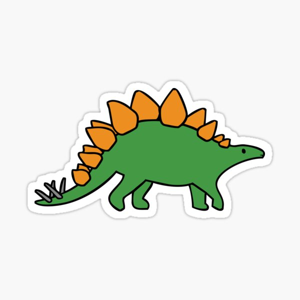 Cute Stegosaurus Sticker