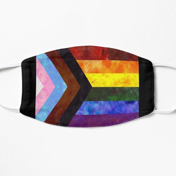 Progress Pride Digital Quilt Mask
