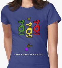 Atari Adventure Challenge Accepted TeeShirt Womens Fitted T-Shirt