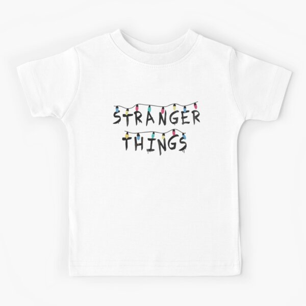 Stranger Things Fairy Lights Kids T-Shirt