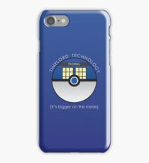 It Has To Be Timelord Technology iPhone Case/Skin