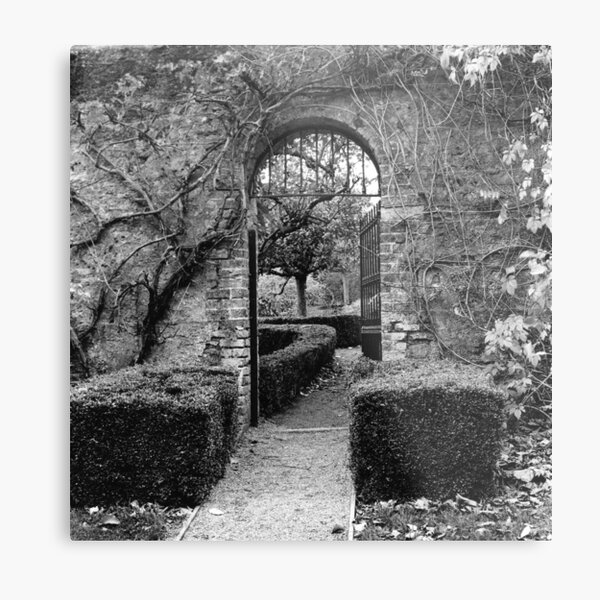 The Walled Garden, Farmleigh, Phoenix Park Metal Print