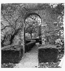 The Walled Garden, Farmleigh, Phoenix Park Poster