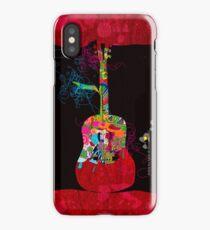 graphic guitar iPhone Case/Skin