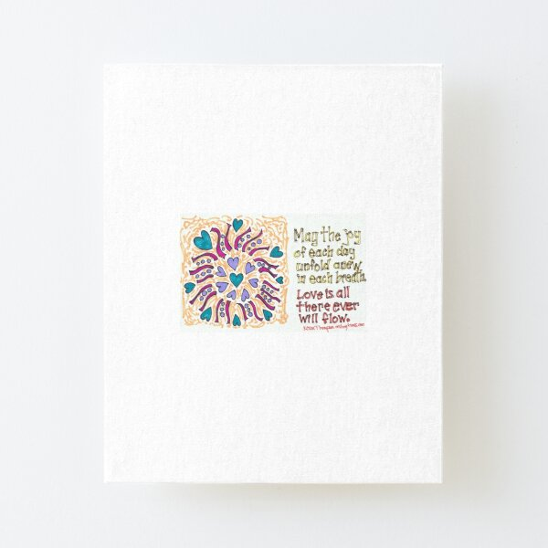 Love Canvas Mounted Print