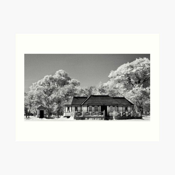 Tudor House in the Phoenix Park Art Print