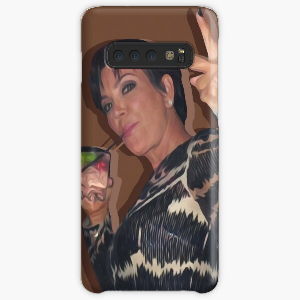 kris and her glass Samsung Galaxy Snap Case