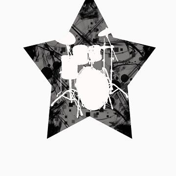 Rockstar drums by Supaflysamurai