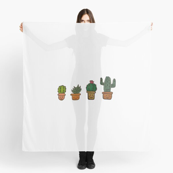 Cacti Characters Scarf