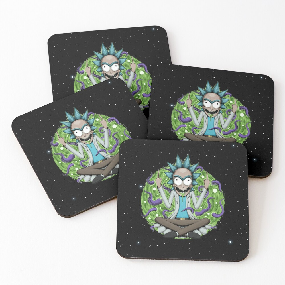 Rick Sanchez Coasters (Set of 4)