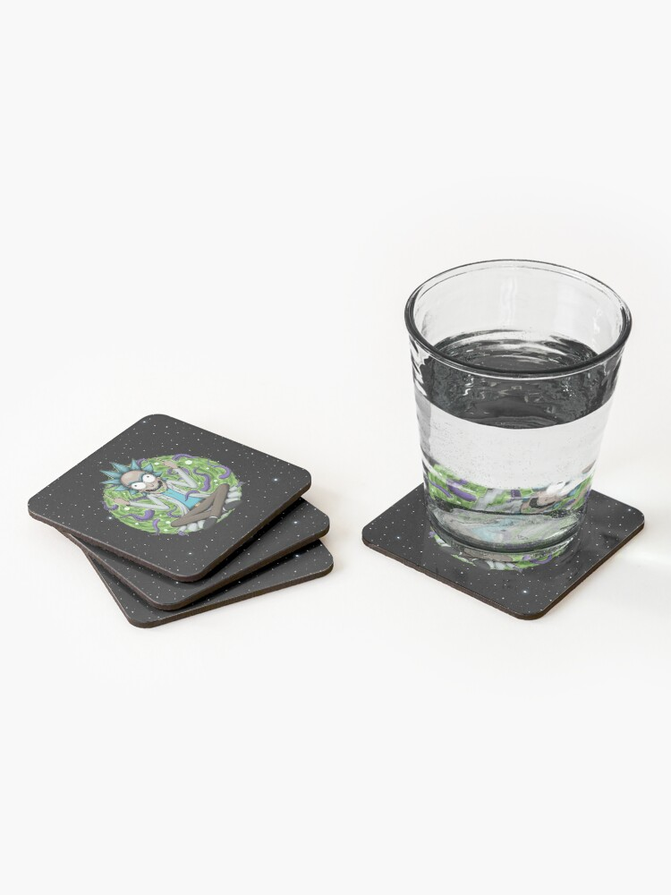 Alternate view of Rick Sanchez Coasters (Set of 4)