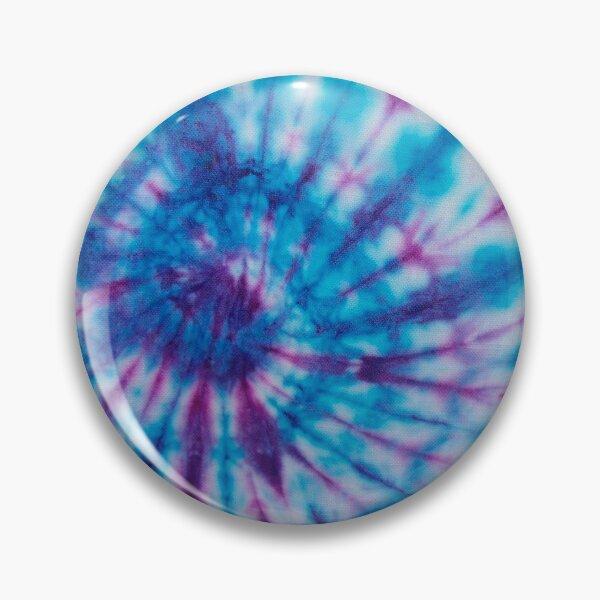 MASK - TIE DYE blue crimson Pin