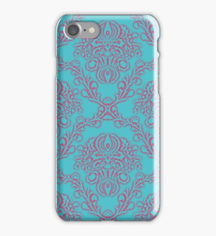 art nouveau Vienna pattern iPhone Case/Skin