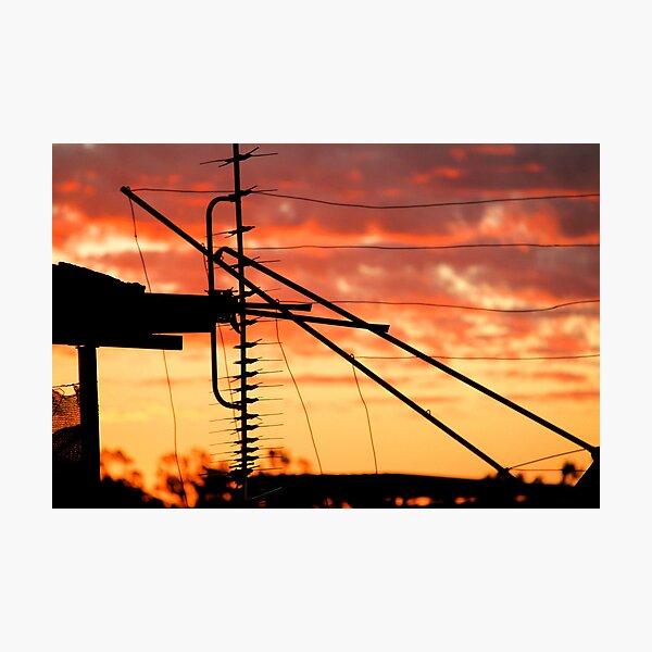 Northern Goldfields Sunset Photographic Print