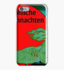 Christmas Mermaid - German iPhone Case/Skin