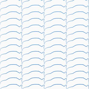 Club Evo Owners - Repeat Pattern (Blue) by jamezluv