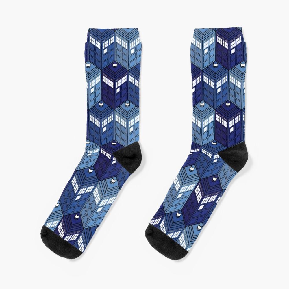 Infinite Phone Boxes Socks