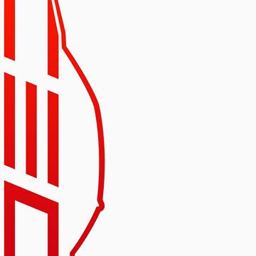 Club Evo Owners - Large Logo (Red) by jamezluv